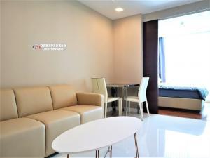 For RentCondoSamrong, Samut Prakan : (M37) Metropolitan Metropolis Samrong Interchange for rent (35 sqm.), 8 floor, one step to BTS Samrong,