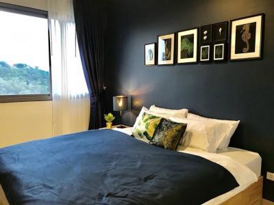 ขายคอนโดพัทยา บางแสน ชลบุรี : ขาย คอนโด Unixx South พัทยา วิว West ชั้นสูง 1นอน ห้องสวย เตียง+ที่นอน แต่งครบ บรรยากาศห้องอบอุ่น พร้อมอยู่