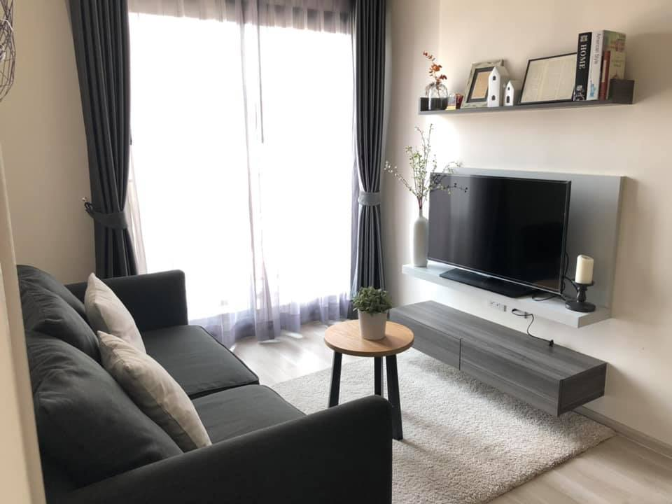 For RentCondoRatchadapisek, Huaikwang, Suttisan : For rent, Condo Centric Ratchada-Huay Kwang - next to MRT Huai Khwang, new room, beautiful decoration, fully furnished, complete electrical appliances, ready to move in !!