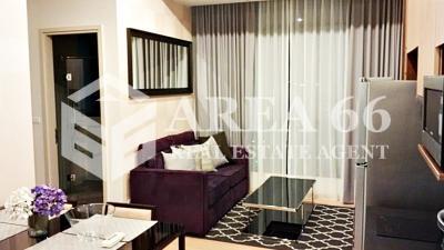 For RentCondoRama9, RCA, Petchaburi : For rent The Capital Ekamai-Thonglor Nearby Airport Rail Link Ramkamheang and BTS Ekamai