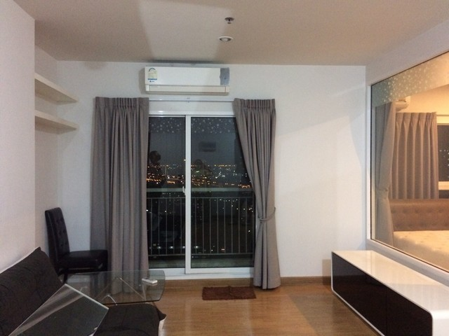 For RentCondoThaphra, Wutthakat : 1 bedroom condo for rent, beautiful view, no south view, The Parkland Grand Taksin