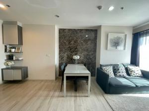For RentCondoRatchadapisek, Huaikwang, Suttisan : Condo for rent, Centric Huai Khwang, 2 bed 1 bath, size 50 Sq.m, price only 22k!!