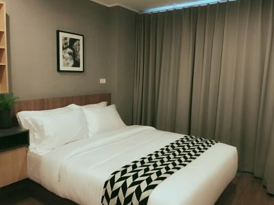 เช่าคอนโดรามคำแหง หัวหมาก : For Rent ให้เช่า ยู ดีไลท์ @ หัวหมาก 32 ตรม ชั้น 6 กั้นนอน 9,500 บ. 064-959-8900