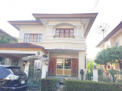 For SaleHouseOnnut, Udomsuk : Beautiful single house 2 and a half floors @ Sukhumvit 101 - Bts Punnawithi.