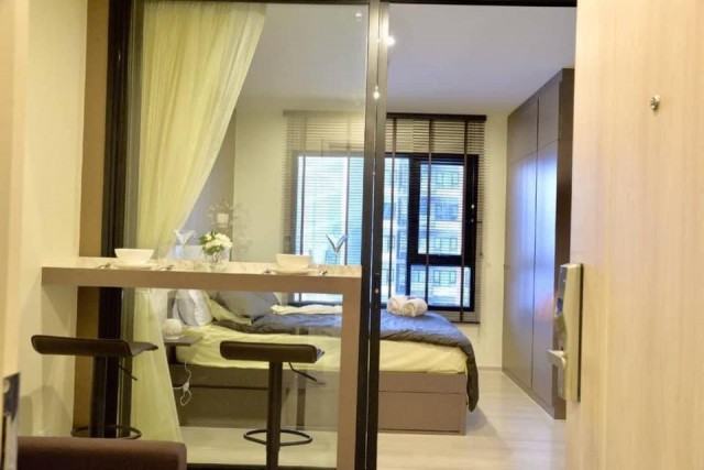 For RentCondoRama9, RCA, Petchaburi : KP31-0005 for rent! Life asoke condo, beautiful room