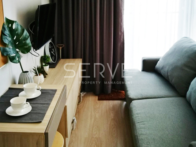 For RentCondoRatchadapisek, Huaikwang, Suttisan : Hot Deal Nice Room Studio Unit on Super High Fl. for Rent  at Noble Revolve1 Next to MRT   13K