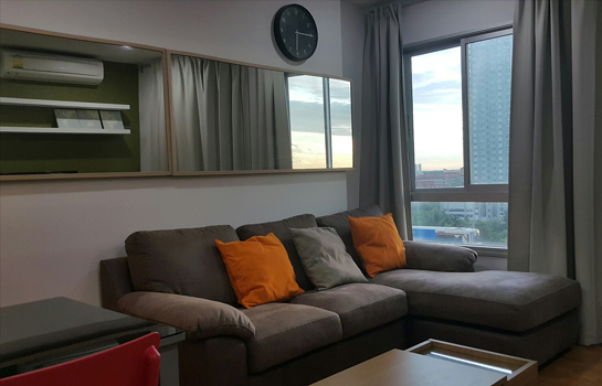 For RentCondoThaphra, Wutthakat : Beautiful condo for rent, 2 bedrooms, next to BTS and MRT Bang Wa