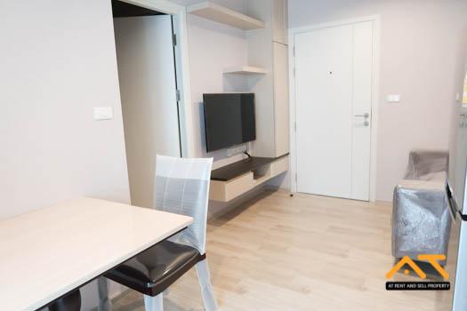 For RentCondoRama9, RCA, Petchaburi : For rent, Plum Condo Ramkhamhaeng Station - 1 bed, size 27 sq.m., beautiful room, inexpensive.