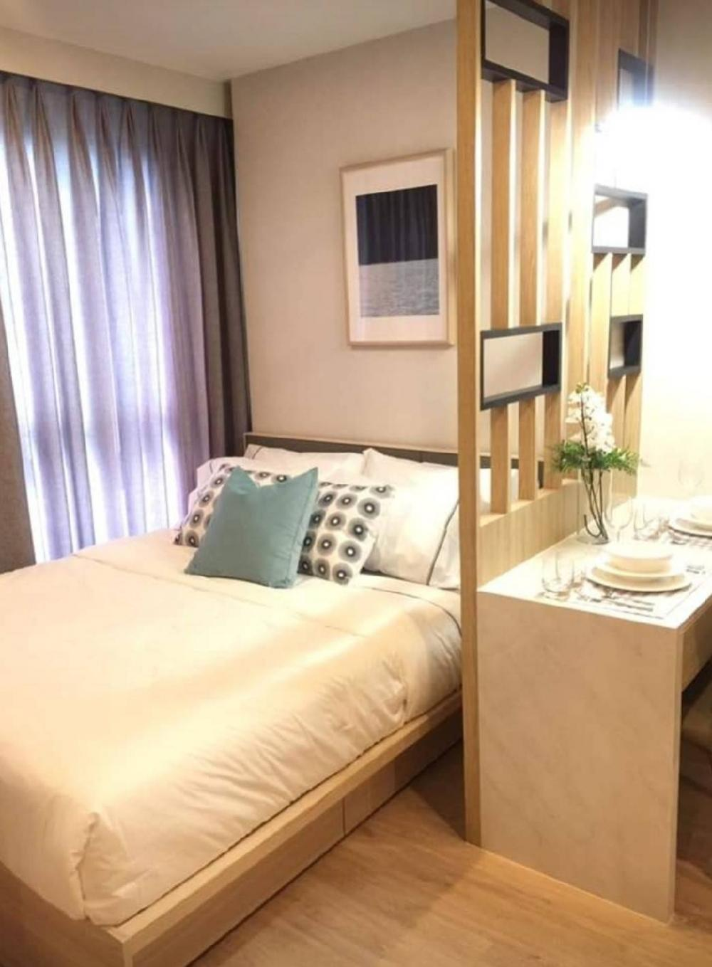 For RentCondoBangna, Lasalle, Bearing : TG8-0164 Urgent for rent, IDEO O2 Condo, Bangna, near BTS Bangna, only 350 meters Beautiful room ready. Negotiable price !!