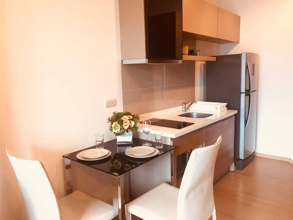 For RentCondoOnnut, Udomsuk : Rhythm Sukhumvit 50, 1 bed 1 bath, 35 sqm, 10 floor.Rental only for 16,000 free wifi.Just 200 m. from BTS On Nut