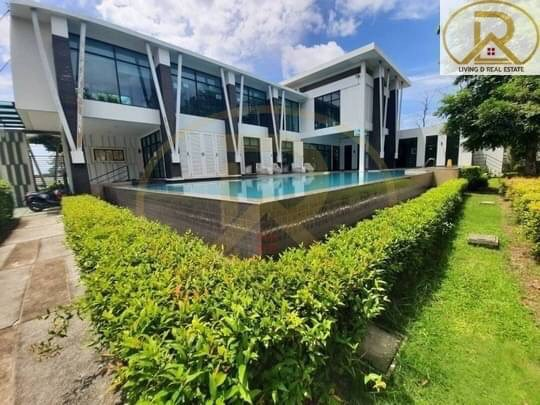 For SaleHouseChonburi, Pattaya, Bangsa : The cheapest sale in the 2-storey detached house project, Casa Ville Suan Suan - Sriracha Free Transfer, ready to move in, fully furnished, Si Racha District, Chonburi Province