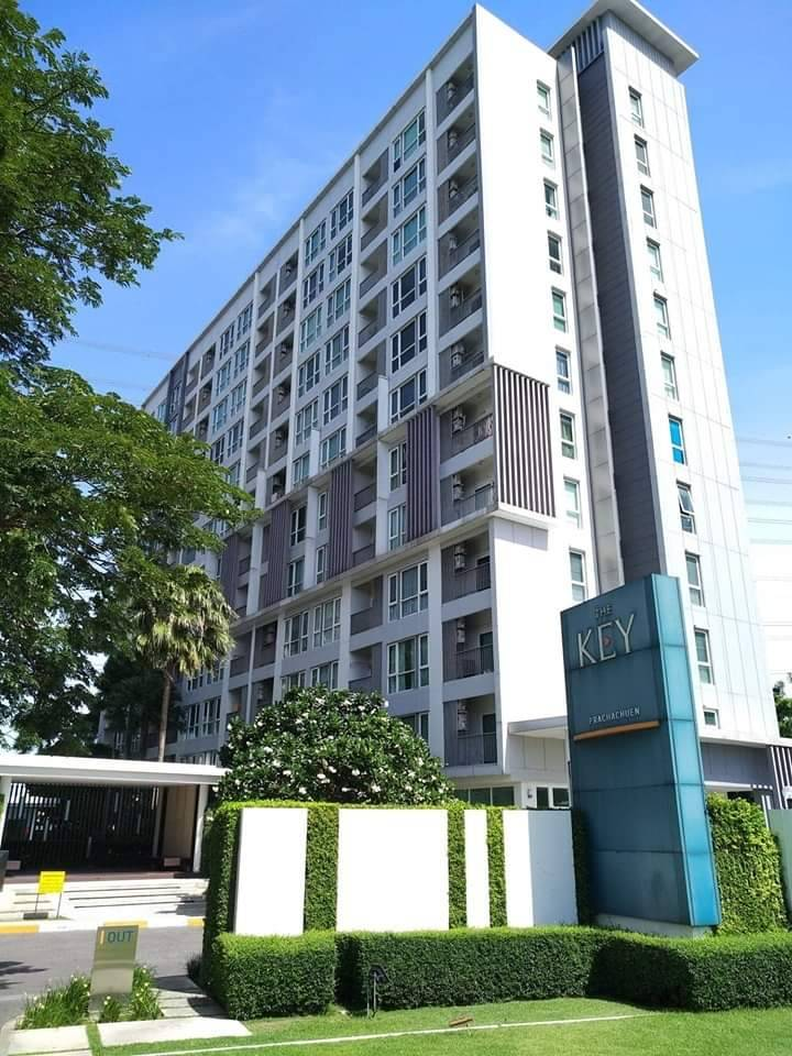 For SaleCondoBang Sue, Wong Sawang : Urgent sale, The Key Prachachuen Condo, 1 bedroom, very beautiful room, fully furnished