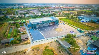 For RentOfficeBangbuathong, Sainoi : Warehouse for rent, 5 Rai, Sai Noi, Nonthaburi.