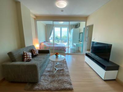 เช่าคอนโดพระราม 9 เพชรบุรีตัดใหม่ : Kris Garden - Rama 9 Fully Furnished Ready to move in