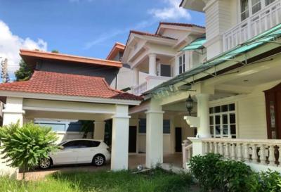 For RentHousePattanakan, Srinakarin : ⭐ For rent a large single house, Manthana Suan Luang, Soi Chalerm Prakiat 28.