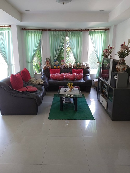 For SaleHouseNawamin, Ramindra : House for sale Sirene House Village Watcharaphon Ramintra 106 square wa of land, can park 4 cars, there is a lot to be added as a Home Office