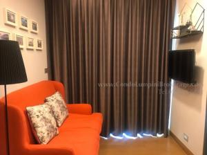 For RentCondoSukhumvit, Asoke, Thonglor : The Lumpini 24 ASK 0013 - 1 Bedroom 1 Bathroom 30 sq.m, 14th floor, South Facing, City view