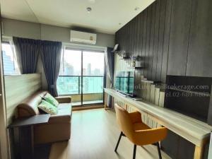 For RentCondoRama9, RCA, Petchaburi : Lumpini Suite Phetchaburi - Makkasan, 1 bedroom, total area 27 floors 32, price 13,000 baht