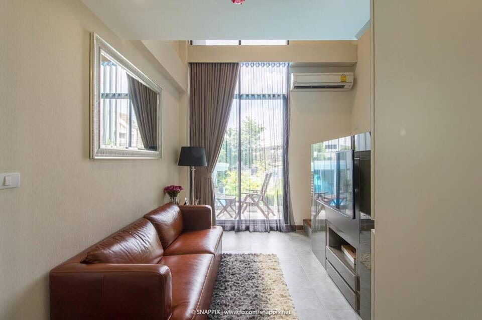 For RentCondoBangna, Lasalle, Bearing : Condo for rent Beyond Sukhumvit fully furnished (Confirm again when visit).