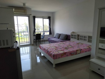 For RentCondoLadkrabang, Suwannaphum Airport : ‼ ️ Urgent rent, Condo Iris Avenue On Nut-Ladkrabang, new beautiful room, fully furnished‼ ️