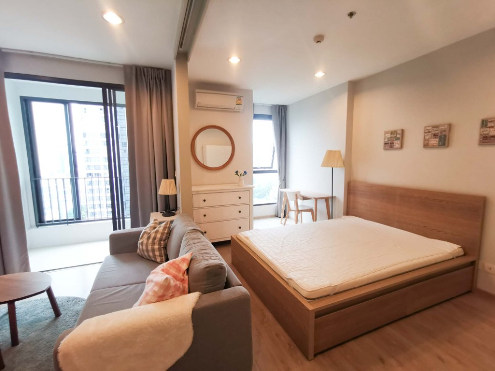 For RentCondoRatchathewi,Phayathai : For Rent  Ideo Q Ratchathewi - 1Bed room 34 Sq.m. ,  Beautiful room, fully furnished.