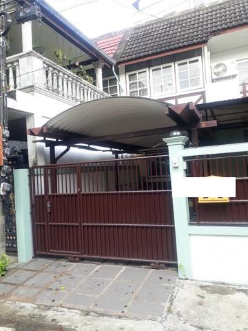 For SaleTownhouseLadprao 48, Chokchai 4, Ladprao 71 : HR308 2 storey townhouse for sale and rent, Thai population village, Soi Ladprao 93