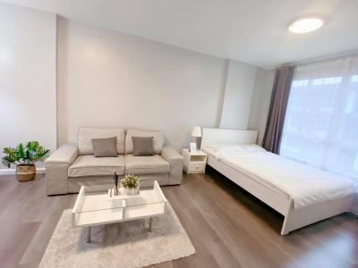 เช่าคอนโดบางนา แบริ่ง : D Condo Campus Resort Bangna Fully Furnished Ready to move in