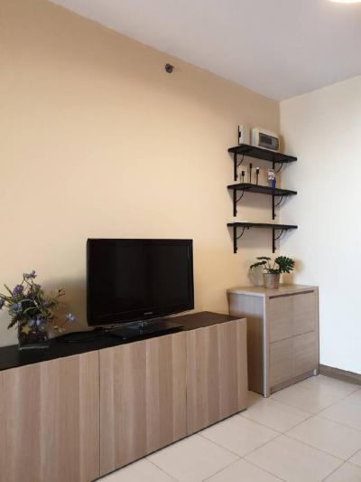 For RentCondoRamkhamhaeng, Hua Mak : Condo for rent Supalai City Resort Ramkhamhaeng Tik A, 8th floor, size 47 sq m, 1 bed