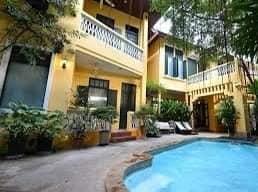 ขายบ้านสาทร นราธิวาส : ขายบ้านในตำนาน สไตล์ไทย-โคโลเนียล ใจกลางเมือง บนถนนเจริญราษฎร์
