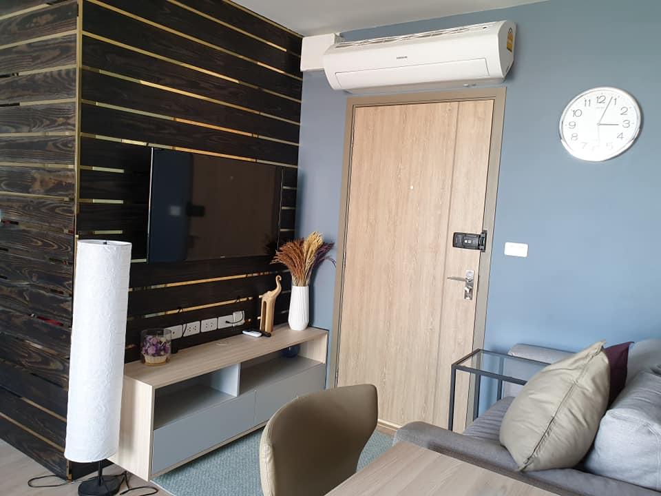 For RentCondoBangna, Lasalle, Bearing : M3113-Condo for rent, IDEO O2, near BTS Bangna + washing machine ready.