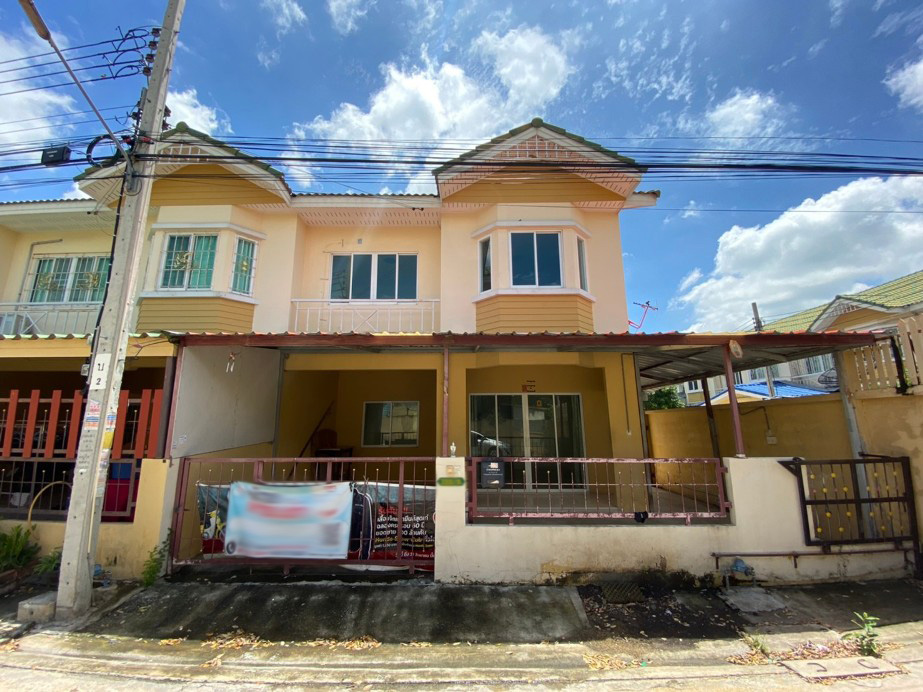 For SaleTownhouseRama 2, Bang Khun Thian : 2 storey townhouse for sale, Baan Pisan, Bang Kradee 2, corner plot, lowest price