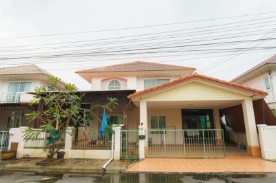 For SaleHouseYothinpattana,CDC : ขายบ้านเดี่ยว 51.9 ตรว หมู่บ้านชวนชื่นกรีนพาร์ค ซอยคู้บอน 27