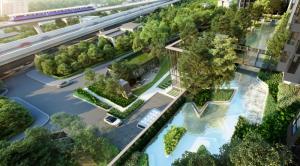 Sale DownCondoThaphra, Wutthakat : Sale down payment pool/garden view room 1 ฺBed 32 sqm. Life Sathorn Sierra ( Life Sathorn Sierra )