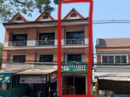 For SaleShophouseChiang Mai, Chiang Rai : Commercial building for sale in prime location, located in Chiang Rai city, next to a good trading road
