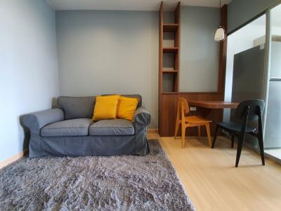 เช่าคอนโดพระราม 9 เพชรบุรีตัดใหม่ : ให้เช่า 1 ห้องนอน Supalai Veranda Rama 9