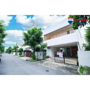 For SaleHouseLadkrabang, Suwannaphum Airport : 2-storey detached house, modern style, fully furnished, ready