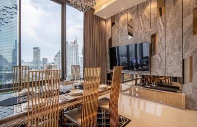 For RentCondoSilom, Saladaeng, Bangrak : +++ Urgent rent +++ Beautiful room ++ Ashton Silom ** 2 bedrooms 86 sq m, 15th floor, ready to move in.
