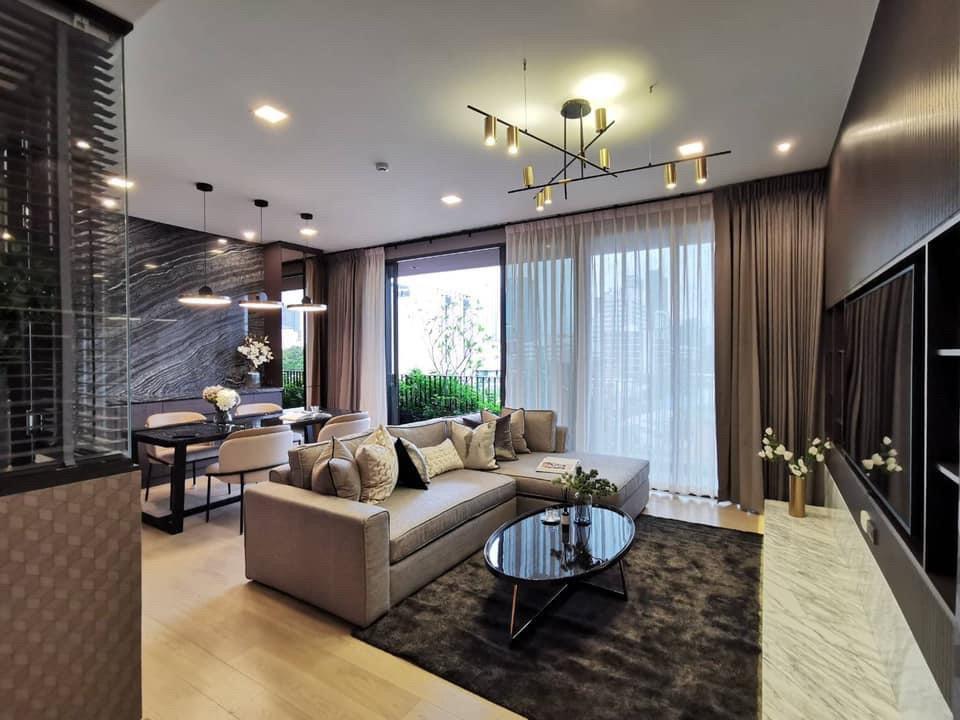 ขายคอนโดพระราม 9 เพชรบุรีตัดใหม่ : +++เช่าด่วน ++ Kalm Penthouse** 2 ห้องนอน 101.22 ตร.ม. ชั้น 5 พื้นที่ตามโฉนด 113.22