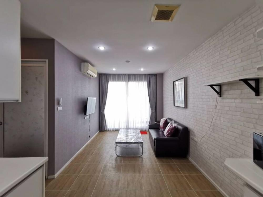 For RentCondoLadprao101, The Mall Bang Kapi : Happy condo for rent, Ladprao 101, area, 70 sq m, 2 bedrooms, 1 animal, can be raised south