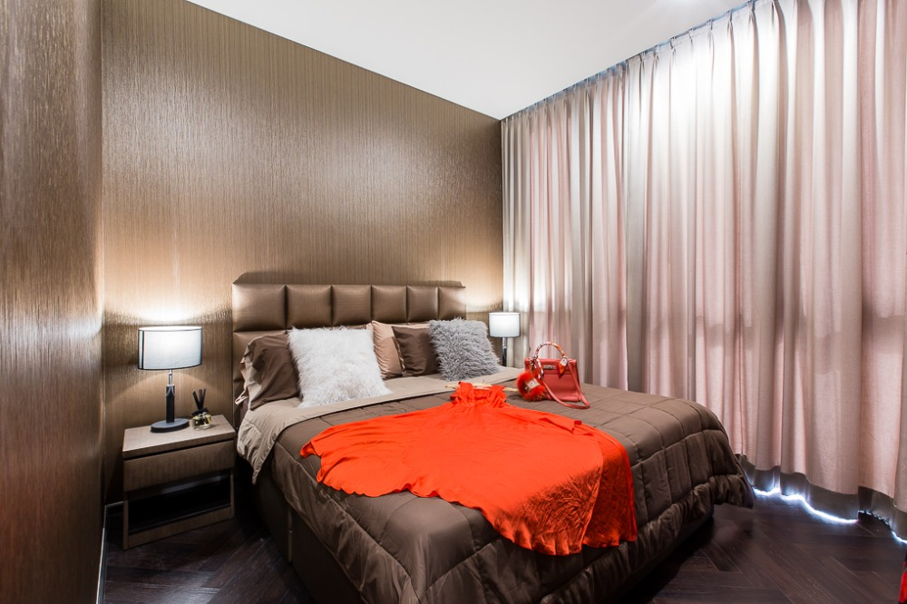 For RentCondoAri,Anusaowaree : Condo for rent, The Monument, Sanam Pao - 2 bedrooms, new room - large, very beautiful, fully furnished.