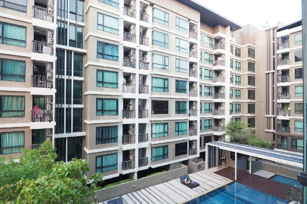 Sale DownCondoKaset Nawamin,Ladplakao : Condo for sale Premio Prime Kaset-Nawamin 4th floor (low rise) Building B, pool view, buy for residence and investment, fully furnished.