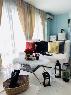 For RentCondoRama9, RCA, Petchaburi : For rent studio room 26 sqm