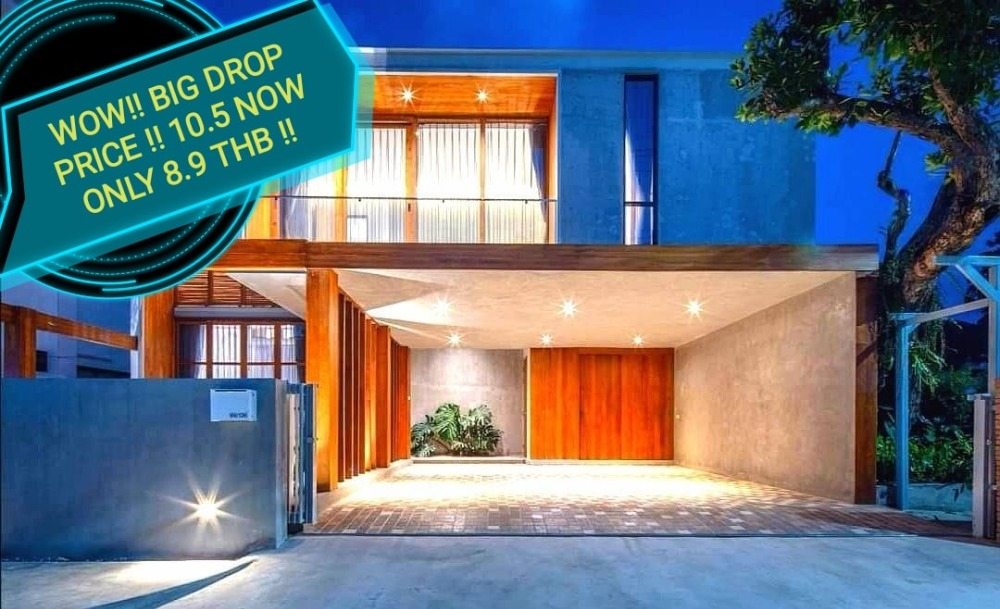 For SaleHouseChiang Mai, Chiang Rai : WOW!!! WOW BIG DROP PRICE !! ONLY this month.  From 10.5 NOW ONLY 8.9 THB. Good Opportunity for people who looking for your own house in ChiangMai. Then please hurry Up!!