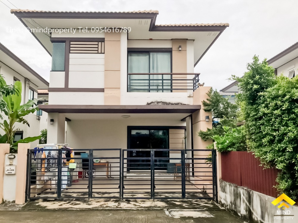 For SaleHouseRangsit, Patumtani : Urgent sale, 2-storey twin house, Fah Piyarom Village, Nesto Phase 11, Lam Luk Ka Klong 6, new house, ready to move in, Pathum Thani district