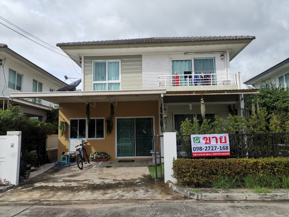 For SaleHouseNawamin, Ramindra : House for sale Chaiyapruek Ramindra-Ring Road 2 size 51 sq m, 3 bedrooms, 3 bathrooms, the cheapest in the project