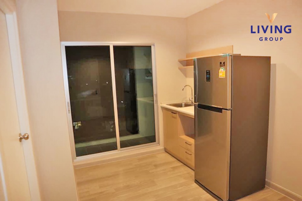 For RentCondoLadprao 48, Chokchai 4, Ladprao 71 : Discount this NOV only ! Plum condo Chokchai 4 MRT Lat Phrao, good location, easy to travel, air-conditioned, fully furnished Ready to move in, 1 bedroom, 5th floor, size 25 sqm.