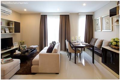 เช่าคอนโดพระราม 9 เพชรบุรีตัดใหม่ : Villa Asoke for rent 81 sqm 2 beds 2 baths 45,000 per month