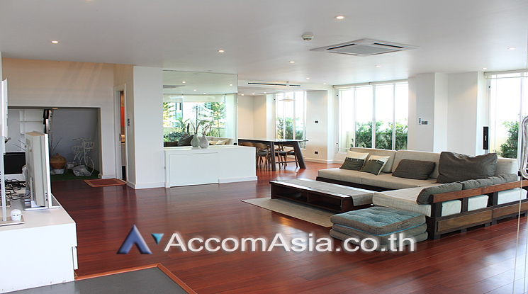 For SaleCondoKhlongtoei, Kluaynamthai : Spacious Penthouse on top floor Duplex style with Huge balcony close to MRT QSNCC in Sukhumvit ( AA26052 )