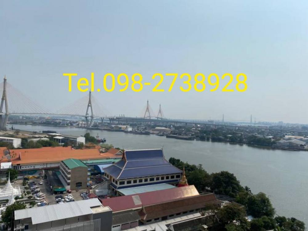 For RentCondoRama3 (Riverside),Satupadit : For rent U Delight Riverfront Rama 3, Chao Phraya River view, 17th floor.