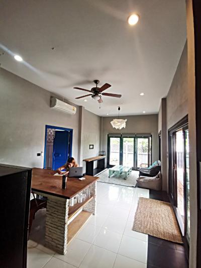 For SaleHouseHua Hin, Prachuap Khiri Khan, Pran Buri : House for sale in Hua Hin, mountain view, good location, size 50 sq m. 3 bedrooms, 2 bathrooms.